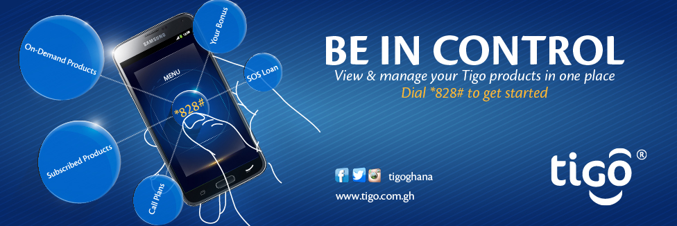 Dial *828# to view and manage all you Tigo products in one place