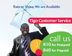 Call tigo customer service for your enquiries