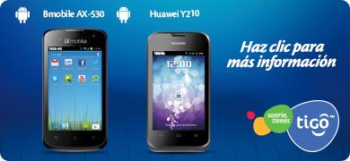 Bmobile AX-530 - Huawei Y210