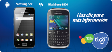 Samsung Ace - Blackberry 9320